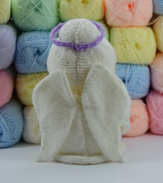 Knitting Pattern Angel : Angel Toilet Roll Cover Pattern   Knitting by Post