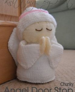 Angel Doorstop Knitting Pattern sm