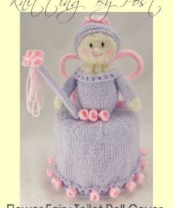 flower fairy toilet paper roll knitting pattern lilac