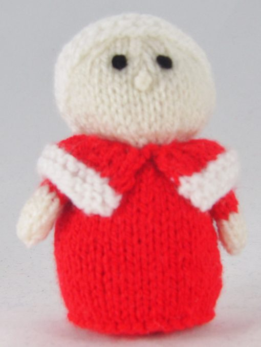 mini mrs santa knitting pattern
