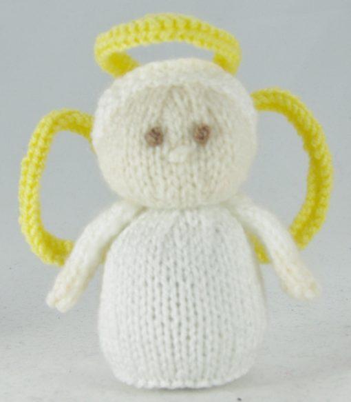 mini angel knitting pattern