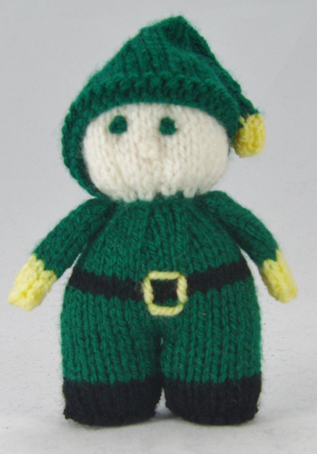 Mini Knitted Christmas Characters Knitting Pattern ...