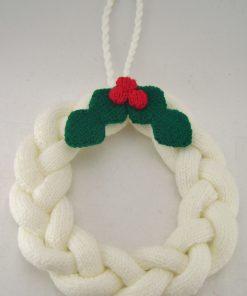 wreath knitting pattern