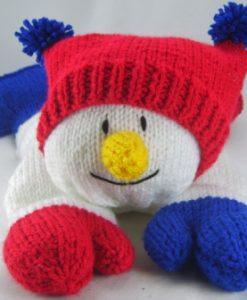 Snowman Pyjama Case 1a