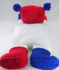 snowman pyjama case knitting patterns