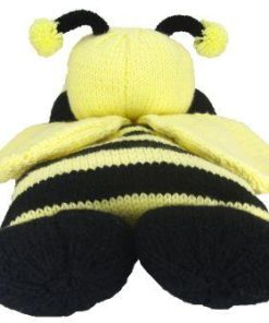 bee pyjama case knitting pattern