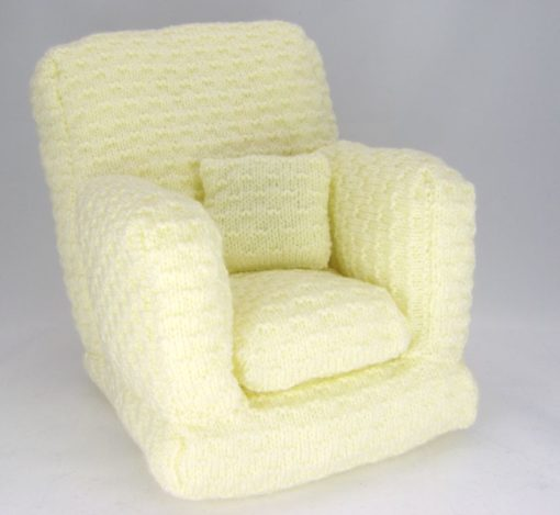 arm chair knitting pattern