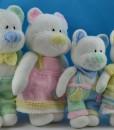 beau family toy  knitting patterns