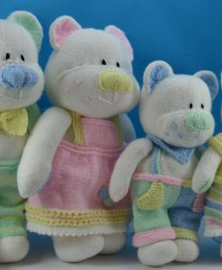 beau family toy  knitting patterns
