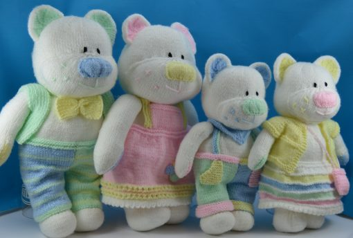 Beau, Belle, Boo and Bess Bears Booklet