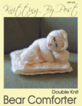 Bear Comforter Knitting Pattern