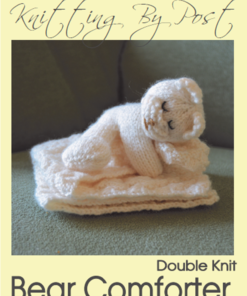 Bear Comforter Knitting Pattern