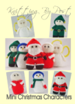 mini knitted christmas characters knitting pattern