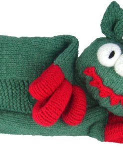 ugly monster knitting pattern pyjama case chunky