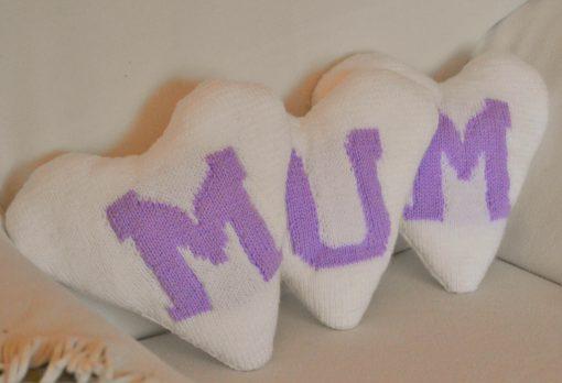 MUM Hearts Knitting Pattern