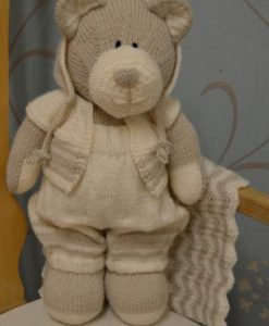 all bear one standing knitting pattern