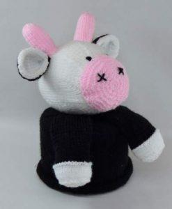cow side knitting pattern