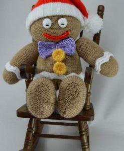 gingerbread knitting pattern