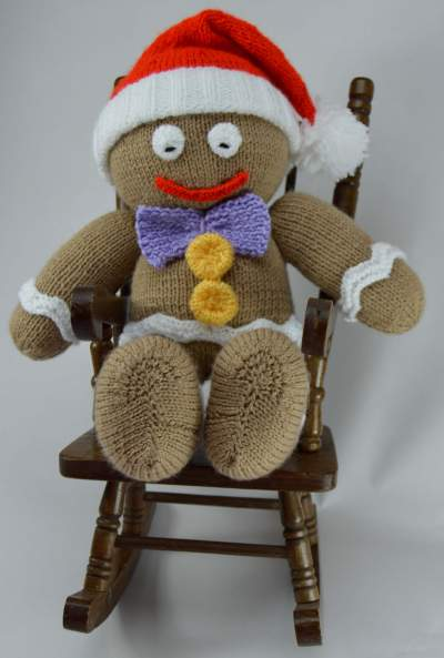 gingerbread knitting pattern