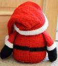 santa back knitting pattern