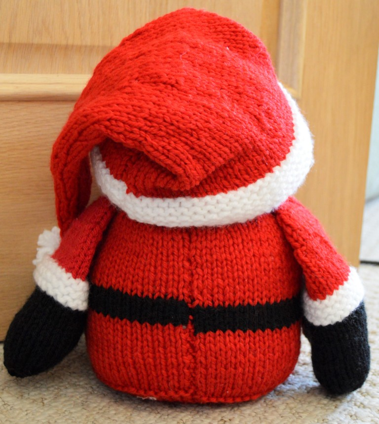 Santa Doorstop Knitting Pattern   Knitting by Post