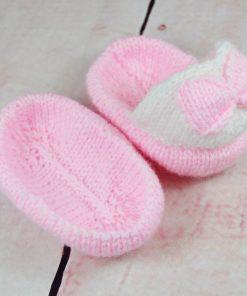 knitted slipper knitting pattern