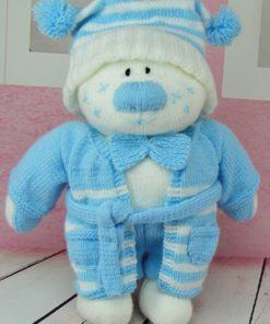 Beau toy knitting pattern
