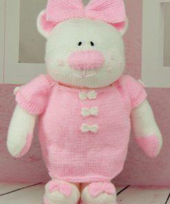 Belle toy knitting pattern