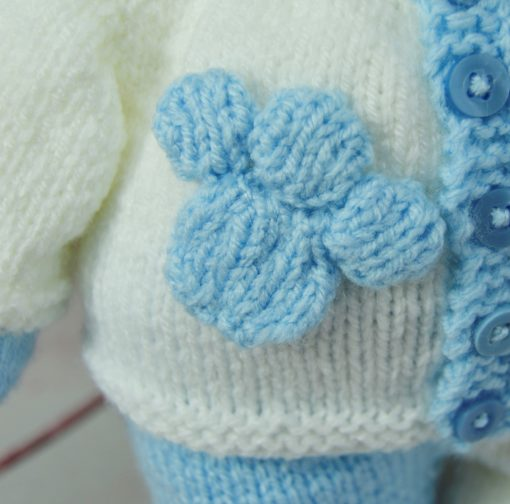 bear paw toy knitting pattern