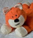 Fox knitting pattern