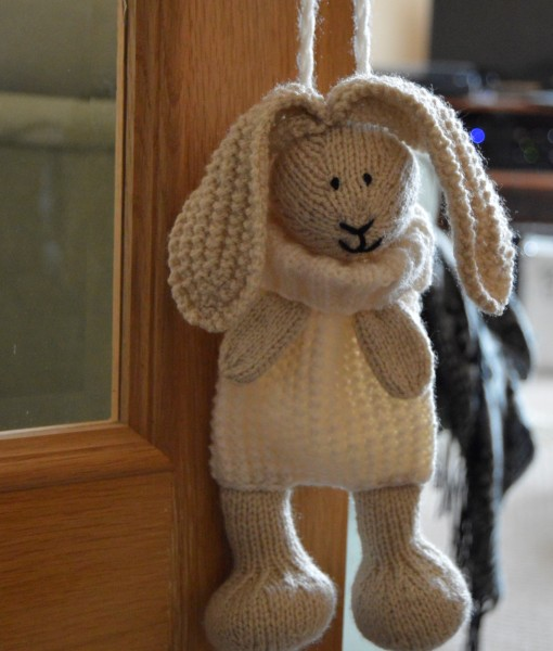 Bunny Baggles Easter Knitting Pattern