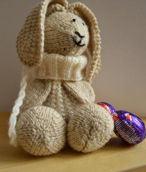 Bunny baggles easter knitting pattern knitting by post easter gift knitting pattern negle Gallery