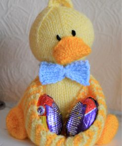 Ducky Egg Soft Toy Knitting Pattern