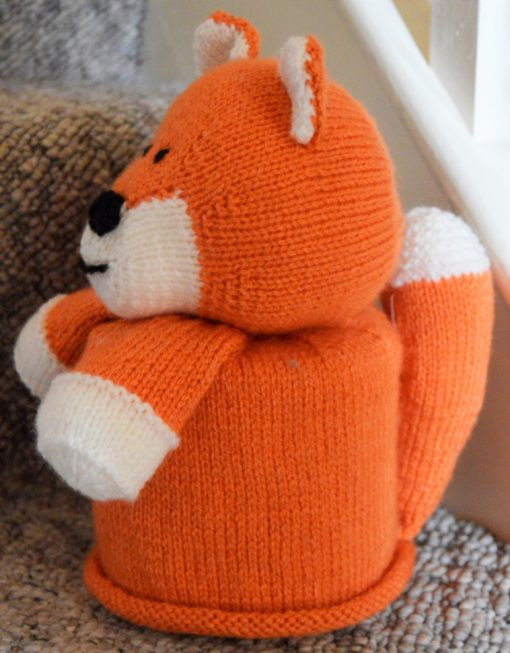 Fox Toilet Roll Cover Knitting Patterns