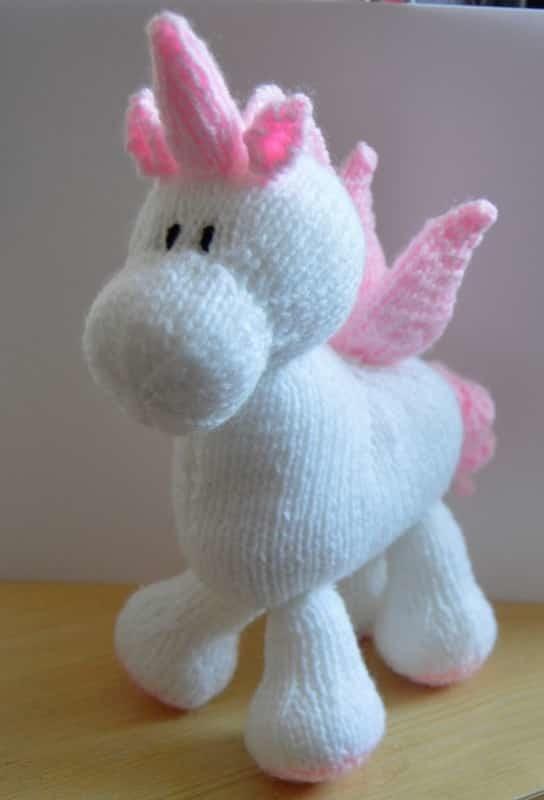 Unicorn Knitting Pattern Uk : Stardust the unicorn knitting pattern by post