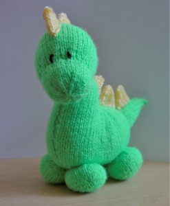 dinosaur knitting pattern