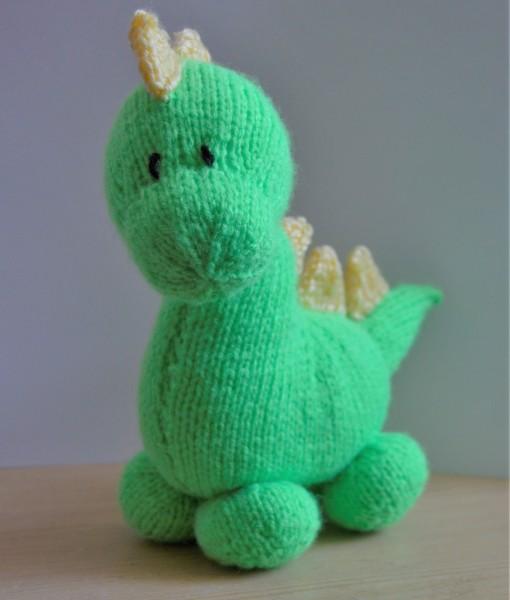dinosaur knitting pattern