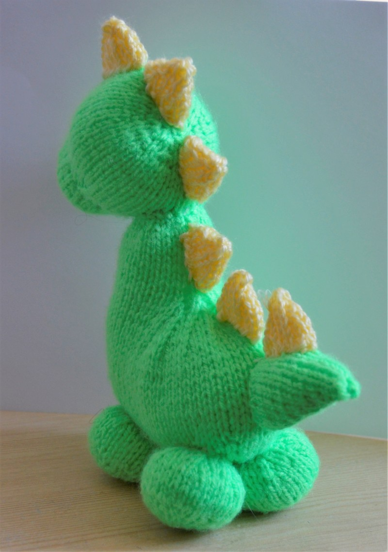 Dinky Dino Knitting Pattern   Knitting by Post