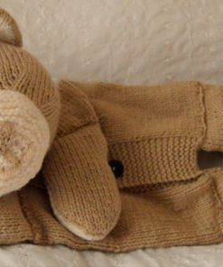 bear knitting pattern