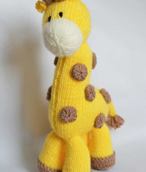 Knitting Pattern Giraffe : Giraffe Knitting Pattern   Knitting by Post