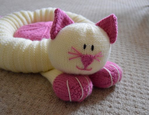 knitted cat bed pattern