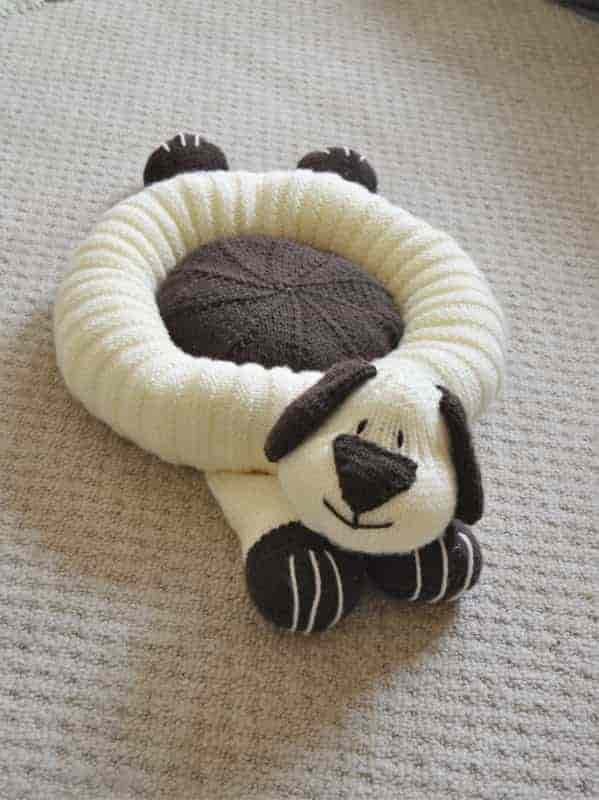 Doggy Snuggler Pet Bed – Knitting by Post