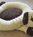 Dog bed knitting pattern