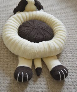 knitted dog bed pattern