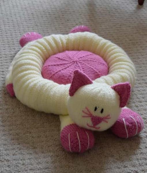 cat-snuggler-pet-bed
