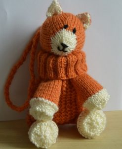 Fox knitting pattern