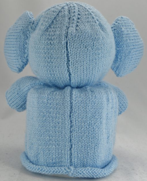 knitted elephant pattern