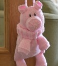 knitted pig pattern
