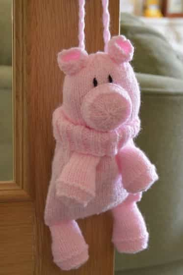 pig knitting patterns