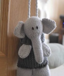 Elephant baggles knitting pattern